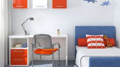 You don't need to be an expert to match interior colors like a pro. Here are a few steps to help you come up with color schemes that will give any room in your house a well thought-out look. Bedroom Color Schemes, Bedroom Colors, Spider Man Comics, Ikea Malm, Well Thought Out, Colorful Interiors, Playroom, Kids Rugs, Teen