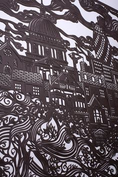 that is some amazing papercutting