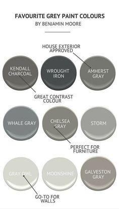Interior Designer Roved Gray Paint Colors By Benjamin Moore Benjamim