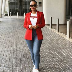 Fashion 2019 New Moda Style - fashion Casual Sporty Outfits, Blazer Outfits, Business Casual Outfits, Classy Outfits, Chic Outfits, Casual Chic, Trendy Outfits, Casual Wear, Fashion Outfits
