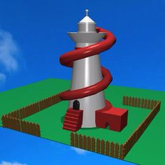 The possibilities of Morphi's #Clipbrd tool are endless. A serene #lighthouse is easily transformed into a #helterskelter by @ashley.pavlovic. For those who are unfamiliar with a helterskelter: it's a tall slide that winds around a tower at a fair. #3dprinting #3dmodel #3ddesign #3dprinter #app #ipad #ipadmini #STEM #STEAM #student #education #edtech #uk #british #spalding #lincolnshire #forge #blacksmith #create #creativity #ideas #visualize #visualization #amusement #fun #slide #3dprint