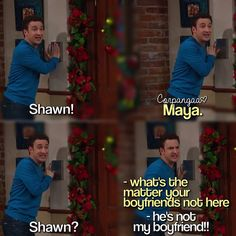 "#GirlMeetsWorld 1x16 ""Girl Meets Home for the Holidays"" - Cory"