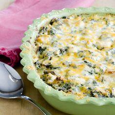 Chicken Portobello Lasagna | MyRecipes.com