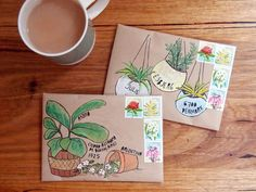 Oh, I love this! I'm a plant nerd. Here's a new way to send plant mail. To read handwritten letters visit: rebeccaturkblog.wordpress.com (later to become rebeccaturk.com).