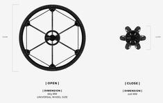 revolve reinvents the wheel to create folding airless bicycle tires