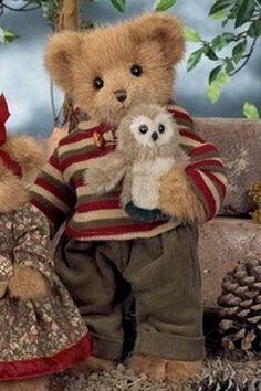 Scooter and Hooter by Bearington Bears.. моему дорогому МУЖУ МИШЕ ... 29 июля 2014