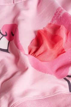 Buy  from Next Netherlands Roze hoody met flamingoprint (3 mnd-6 jr)