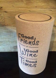Banco rolha de vinho -Personalize o seu!