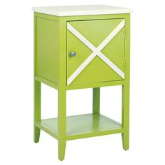 Side table with a crisscross motif.   Product: Side tableConstruction Material: PoplarColor: Gre...