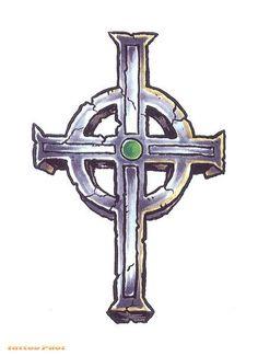 celtic cross tatoo | Celtic Cross Tattoo Designs