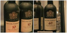 Taylor Fladgate Tawny Ports - perfect for the end of the day or in a dessert.
