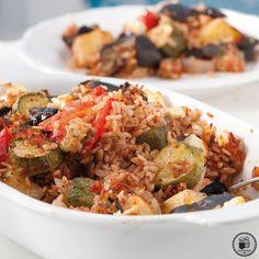ΓΕΜΙΣΤΑ ΧΥΜΑ Cookbook Recipes, Cooking Recipes, Greek Beauty, Good Food, Yummy Food, Fried Rice, Meals, Chicken, Ethnic Recipes