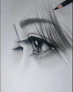 Art Drawings Beautiful, Art Drawings Sketches Simple, Pencil Art Drawings, Realistic Drawings, Pencil Sketches Landscape, Amazing Sketches, Pencil Sketch Portrait, Portrait Art, Black And White Art Drawing