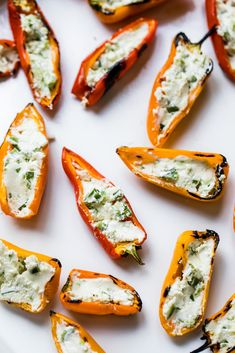 Jalapeño-Goat Cheese Grilled Stuffed Mini Peppers | Ambitious Kitchen