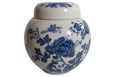 Blue & White Mason's Ginger Jar