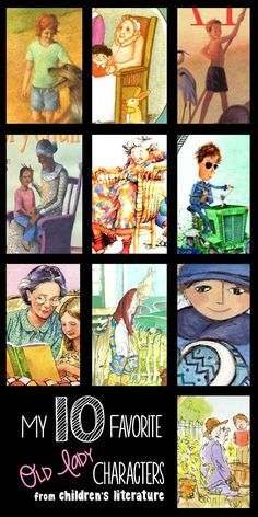 The Thinker Builder: My 10 Favorite 'Old Lady' Characters
