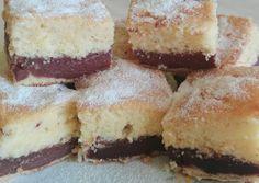 Piskótás pudingszelet | Lencse Éva receptje - Cookpad receptek Evo, Cheesecake, Puding, Cheesecakes, Cherry Cheesecake Shooters