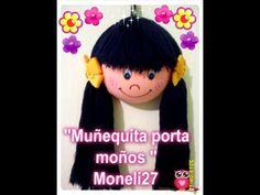 """""""MUÑECA PORTA MOÑOS"""" MANUALIDAD/ """"BOWS DOLL CARRIER"""" CRAFT - YouTube"""
