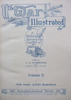 THE WAR ILLUSTRATED Volume Five Title Page