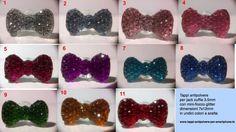 Tappo antipolvere fiocco glitter bowknot jack 3.5mm Samsung LG Sony _OFFERTA 3x2