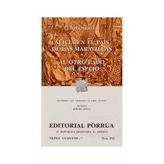 Libro  Alicia En El Pais De Las Maravillas - $ 70.00