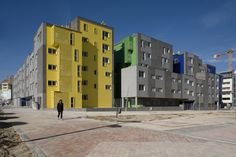 12 Towers In Vallecas / nodo17 Architects