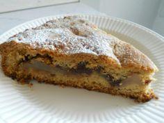 Una meravigliosa torta con Pere del'Emilia Romagna IGP, cioccolato e cannella