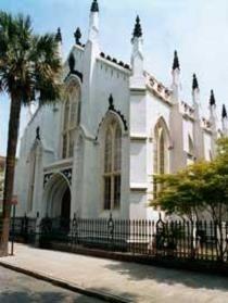 The French Protestant (Huguenot) Church. Charleston SC