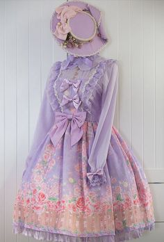 Reminder: [-✿-Cat's Broom ~The Secret Garden~ OP Dress-✿-] pre-order will END TOMORROW >>> http://www.my-lolita-dress.com/cat-s-broom-the-secret-garden-normal-waist-lolita-op-dress-cb-3