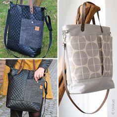 Bag - Lia Bag - Pattern eBook Source by jhaertl Next Bags, Lunch Tote Bag, Bag Patterns To Sew, Pattern Sewing, Mini Crossbody Bag, Shopper, Leather Handle, Bag Making, Diaper Bag