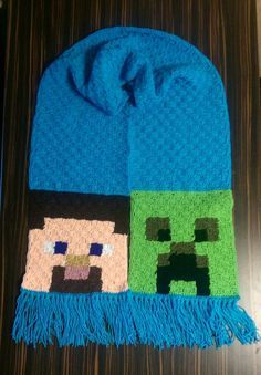 Hey! So this isn't a pattern as such, but I've had a few people asking me how I made my recent Minecraft Scarf! As you may or may not be able to tell, it has been done with Corner to Corner ...