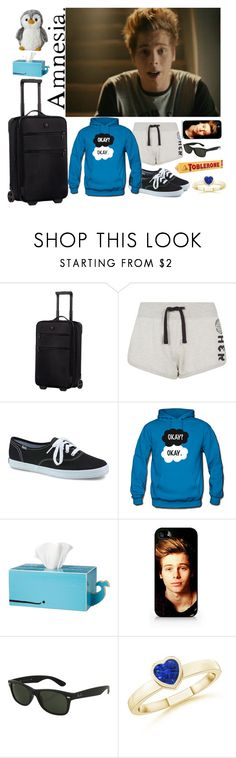 """""""""""For Every Dark Night, There's a Bright Day"""" - Luke Hemmings"""" by one-love-direction ❤ liked on Polyvore featuring Victorinox Swiss Army, Keds, Bajo and Ray-Ban"""