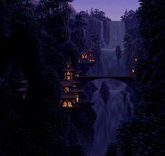 (gif) waterfall