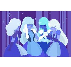 Steven Universe discussion and fanart Steven Universe Lapidot, Steven Universe Comic, Sapphire Steven Universe, Princess Toadstool, The Kingdom Of Magic, Tokyo Mew Mew, Buffy The Vampire Slayer, Super Smash Bros, Fanart