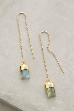 Quartz Sweeper Earrings #anthropologie