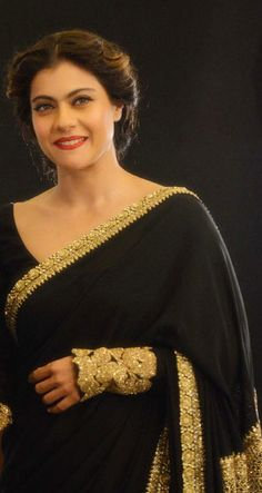 Pinterest @Littlehub || Six yard- The Saree ❤•。*゚|| kajol in sabyasachi
