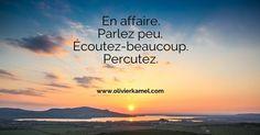 Se taire. Pour écouter. www.olivierkamel.com