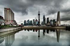 Cloudy Shanghai. #ViktorLakics