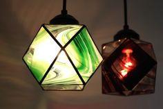 ステンドグラス、ランプ L5 - ステンドグラシアス