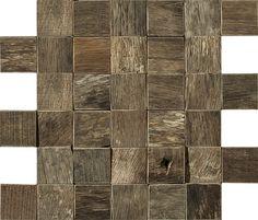 L'Antic Colonial amplía su colección de mosaicos de madera con dos nuevos diseños creados con madera recuperada de antiguas embarcaciones.