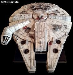 Star Wars: Millennium Falcon - High-End Modell » Typ: Fertig-Modell » Hersteller: BurTECH » https://spaceart.de/produkte/sw099.php