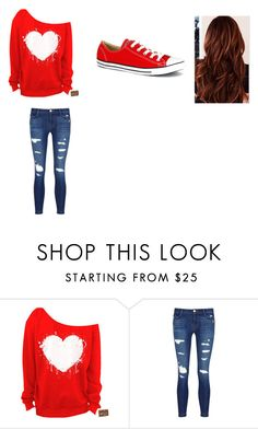 """""""Ashley's Outfit"""" by lizzie12304 on Polyvore featuring J Brand and Converse"""
