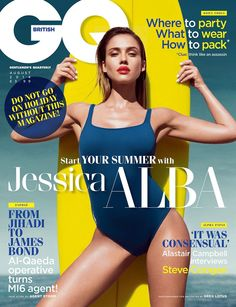 GQ UK August 2014 cover