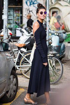 Street Style vestidos estampados primavera   Galería de fotos 9 de 36   GLAMOUR