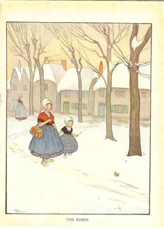 1922 Vintage Childrens Print. By Hester Margetson, via Etsy.