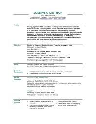Psd One Page Resume Templates  Resume Template Free And Template