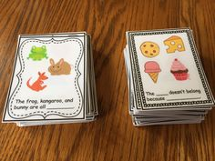 Vocabulary and Grammar Task Cards/Boards! - The Autism Helper