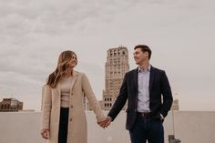 Detroit Engagement Photos, Engagement Photo Outfits, Engagement Pictures, Engagement Session, Prenuptial Photoshoot, Romantic Wedding Inspiration, Metro Detroit, Detroit Wedding, Couple Posing