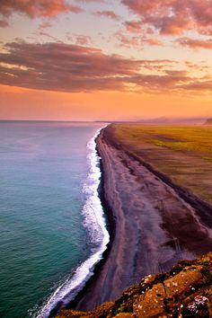 Dyrholaey Sunrise - Iceland by :Joe Capra