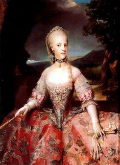 Queen Maria Carolina of Austria of Naples by Anton Raphael Mengs, 1768-1775